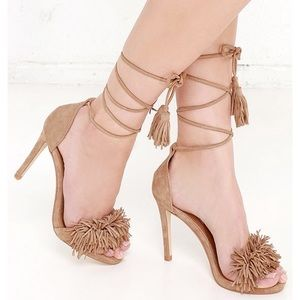 Steve Madden fringe heels